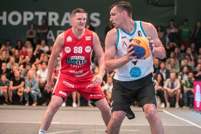 """Hoptrans 3x3"" turnyro finalas   Juliaus Kalinsko / BNS foto nuotr."