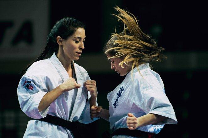 Evelina Bidžanova (kairėje) | Eglės Norvilytės nuotr.
