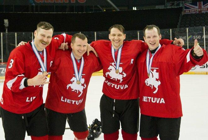 Mindaugas Kieras, Rolandas Aliukonis, Darius Pliskauskas ir Artūras Katulis | hockey.lt nuotr.