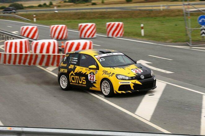 """""""Citus Racing"""" komanda Palangoje   Organizatorių nuotr."""