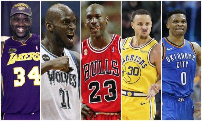 Didžiausias algas gavę NBA krepšininkai | Scanpix nuotr.