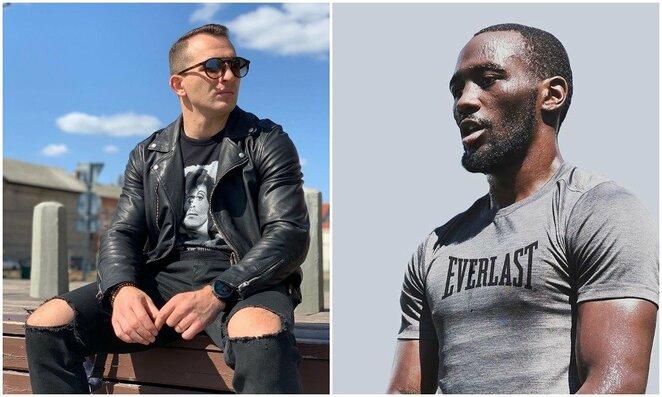 Egidijus Kavaliauskas ir Terence'as Crawfordas | Instagram.com nuotr