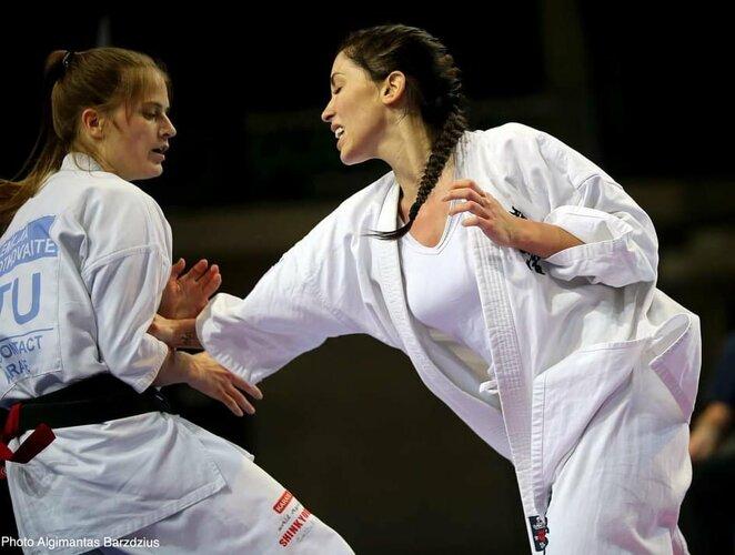 Evelina Bidžanova (dešinėje) | Algimanto Barzdžiaus nuotr.