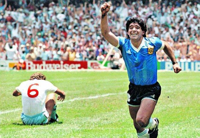 Diego Maradona | Organizatorių nuotr.