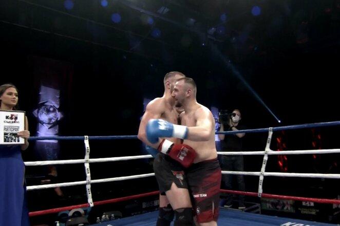 "Mindaugas Narauskas – Mateusz Rajewski  | ""Stop"" kadras"