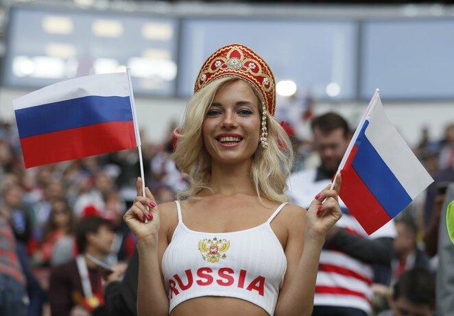 Įspūdingiausi Rusijos ir Saudo Arabijos rungtynių sirgaliai | Scanpix nuotr.