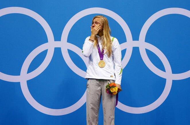 Rūta Meilutytė Londono olimpiadoje   Scanpix nuotr.