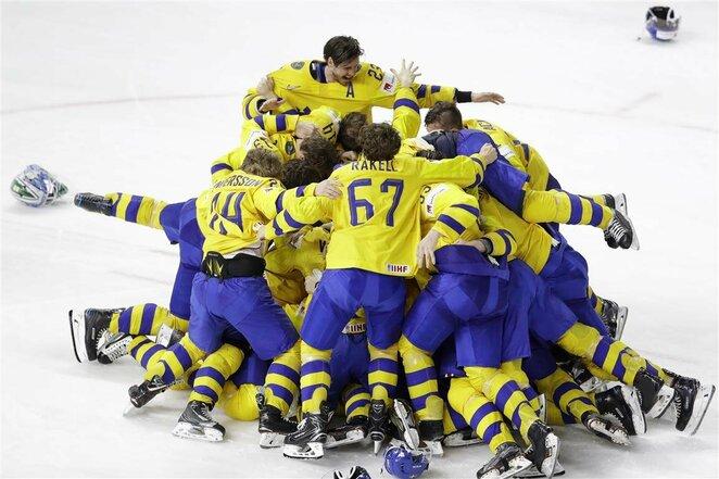 Švedų ir šveicarų rungtynės | Scanpix nuotr.