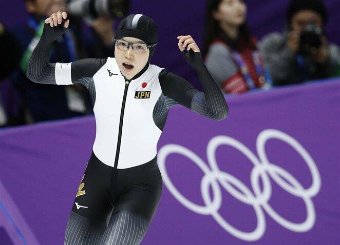 Moterų greitojo čiuožimo 500 m rungtis | Scanpix nuotr.