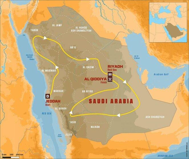 Dakaro ralis Saudo Arabijoje | Organizatorių nuotr.