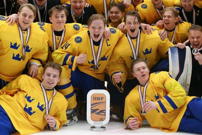 Švedijos U18 ledo ritulio rinktinė | IIHF nuotr.