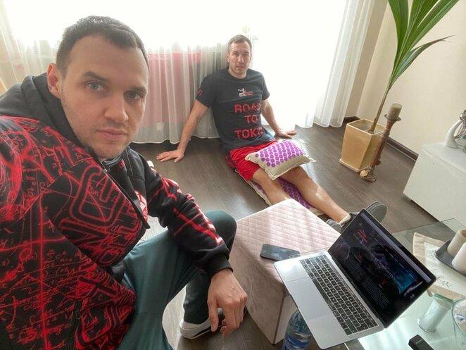 Vitalijus Vasiljevas ir Tadas Tamašauskas   asmeninio archyvo nuotr.
