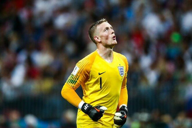 Pasaulio čempionato pusfinalis: Kroatija - Anglija (2018.07.11) | Scanpix nuotr.