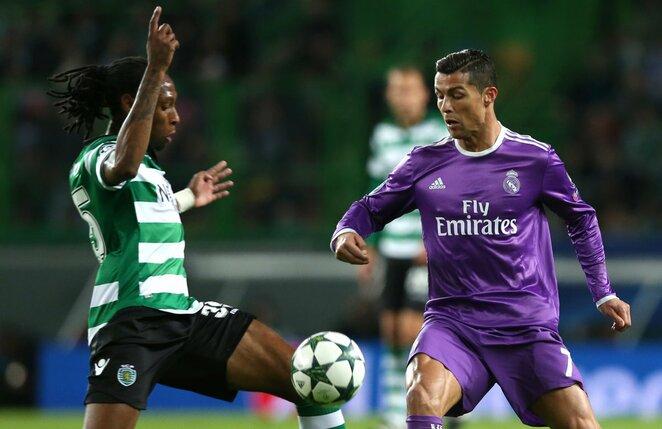 """""""Sporting"""" –  """"Real"""" rungtynių akimirka"""