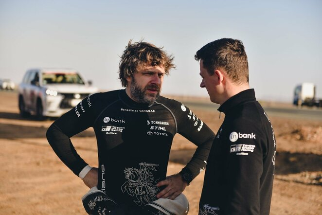 Dakaro ralio dvyliktasis etapas | Vytauto Pilkausko nuotr.