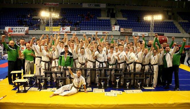 Europos pilno kontakto karatė jaunimo ir jaunučių čempionatas | Algimanto Barzdžiaus nuotr.