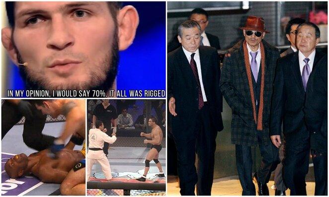 Skandalingiausios MMA konspiracijos teorijos   Scanpix nuotr.
