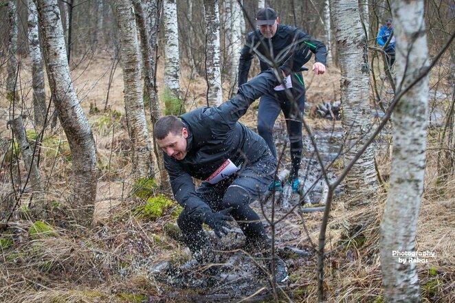 Bėgimas aplink Rėkyvos ežerą | Roko Lukoševičiaus nuotr.