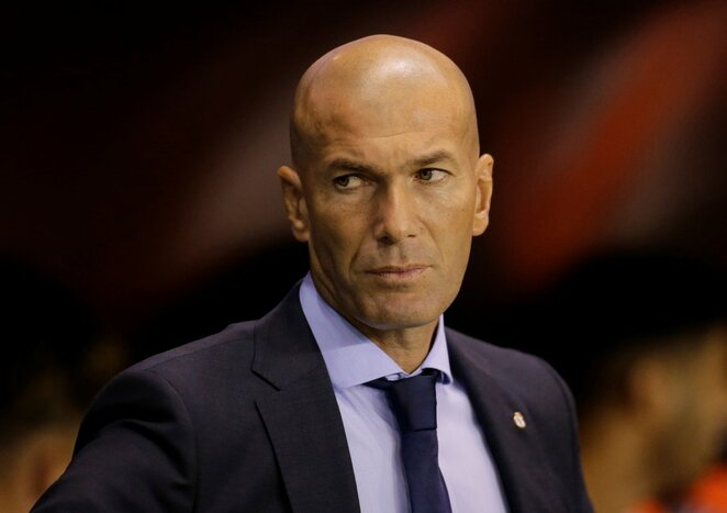 Zinadine'as Zidane'as | Scanpix nuotr.
