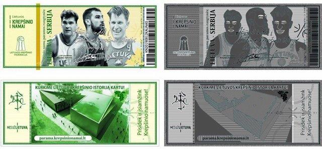 Krepšinio gerbėjams – specialūs auksiniai bilietai | Organizatorių nuotr.