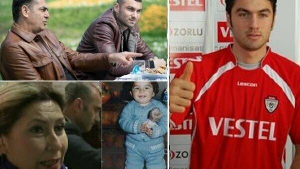 Burakas Yilmazas su tėčiu, vaikystėje ir paauglystėje | Organizatorių nuotr.
