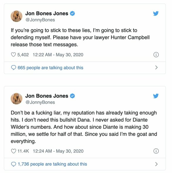 """J.Joneso įrašai """"Twitter"""" socialiniame tinkle   Organizatorių nuotr."""