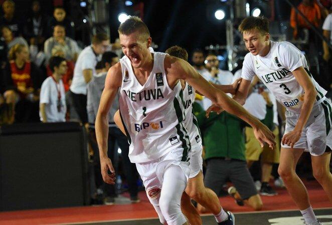 Lietuvos jaunių 3x3 krepšinio rinktinė | FIBA nuotr.