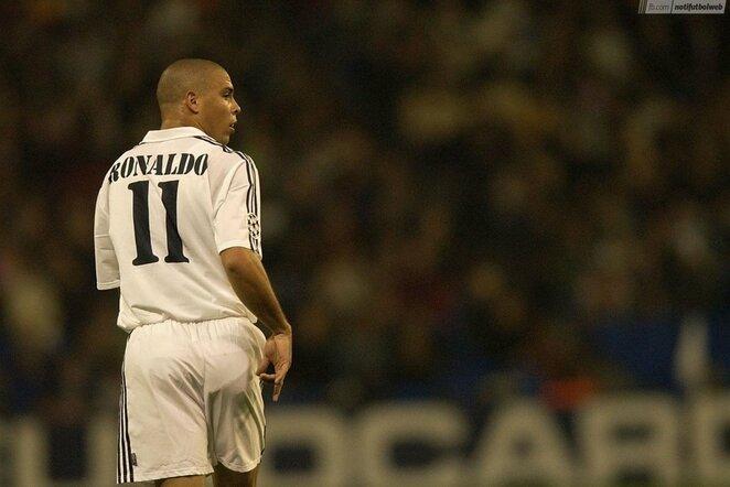 Ronaldo Nazario   Organizatorių nuotr.