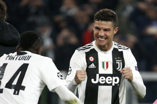 C.Ronaldo džiaugsmo akimirkos  | Scanpix nuotr.