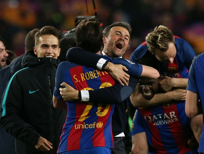 """Barcelona"" triumfo akimirka | Scanpix nuotr."