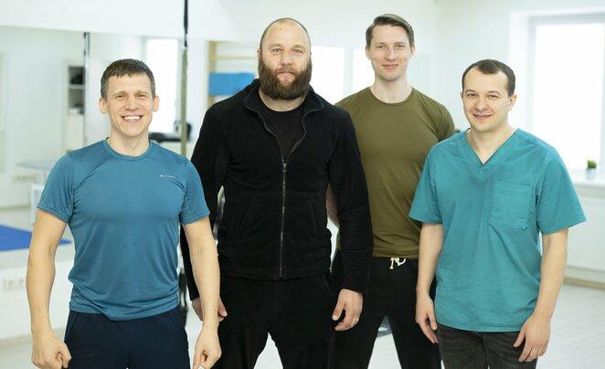 Saulius Satkevičius, Tomas Pakutinskas, Andrius Birulinas, Laurynas Gumbis l Manto Stankevičiaus nuotr.