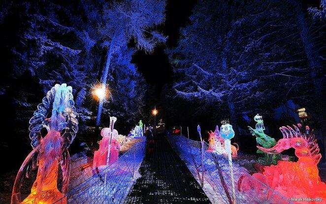 Ledo skulpturu parkas   Organizatoriu nuotr.
