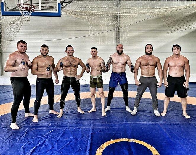 MMA stovyklos Tauragėje dalyviai | asmeninio archyvo nuotr.