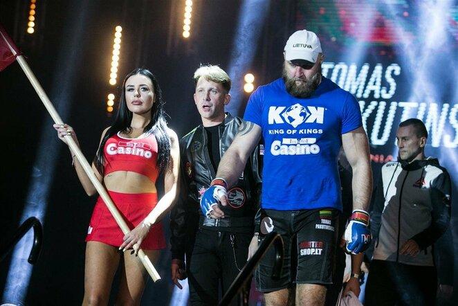 Tomas Pakutinskas prieš Sergejų Firsovą | Juliaus Kalinsko / BNS foto nuotr.