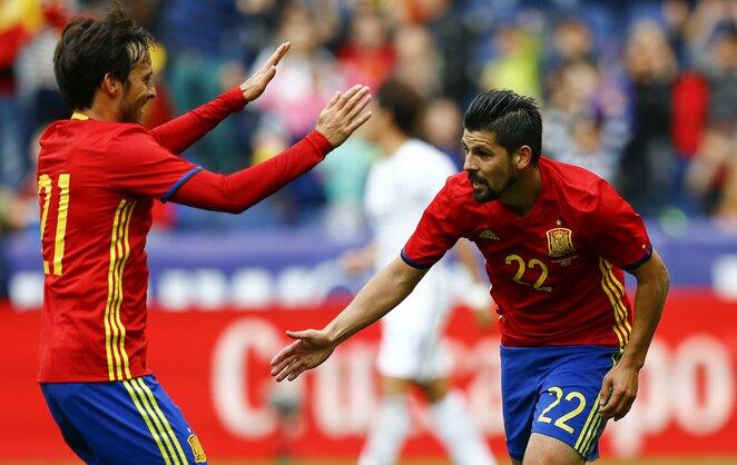 Ispanijos futbolo rinktinė   Scanpix nuotr.